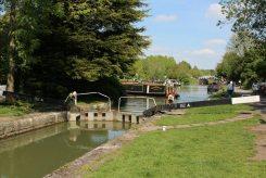 Caen Hill Locks, Sir Hugh Stockwell Lock 44, Kennet and Avon Canal, Devizes