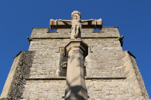 Church Cross, War Memorial, St. Mary's Churchyard, Twickenham