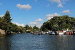 Eel Pie Island and River Thames, Twickenham