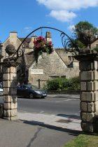Entrance to Westbury Gardens, Bradford on Avon