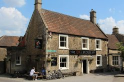 Fox and Badger pub, Wellow