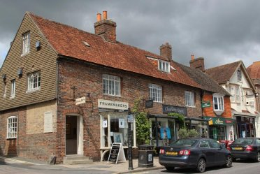 Framemakers and Charlotte Quest, High Street, Marlborough