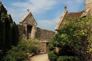 Garden around the Chapel, Farleigh Hungerford Castle, Farleigh Hungerford