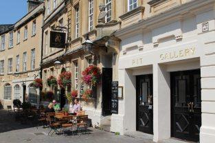 Garrick's Head pub and Theatre Royal, Bath