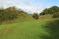 Iron Age Ramparts, Ham Hill Country Park