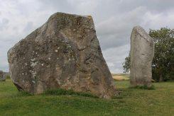 Male and Female Stones, The Cove, Avebury Henge