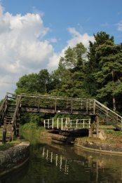 Meadows Bridge and Bradford on Avon Swing Bridge, Kennet and Avon Canal, Avoncliff
