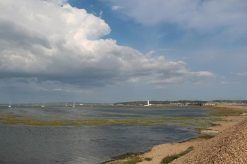 Mount Lake, from Hurst Spit, Milford-on-Sea