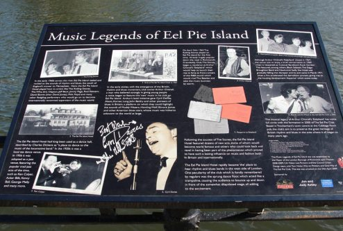 Music Legends of Eel Pie Island, Twickenham