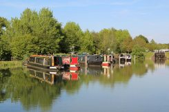 Narrowboats, Kennet and Avon Canal, Devizes
