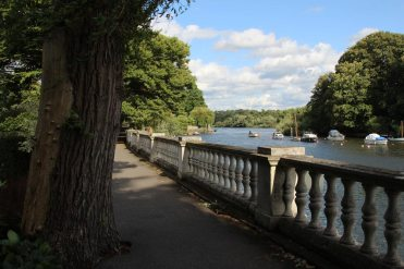 River Thames, from York House Gardens, Twickenham