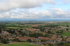 Stoke sub Hamdon, from Ham Hill Country Park
