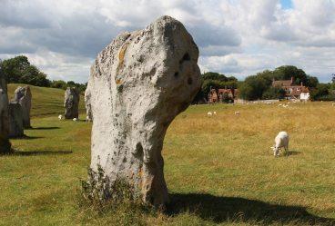 Stone, South West Sector, Avebury Henge