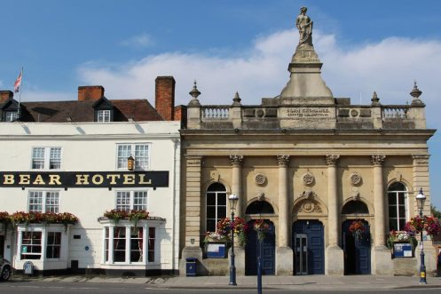 The Bear Hotel and the Corn Exchange, Devizes
