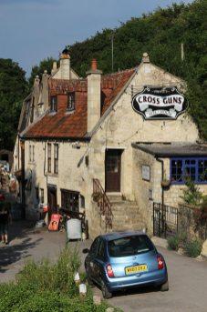 The Cross Guns pub, Avoncliff
