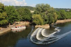Weir, River Avon, Bath