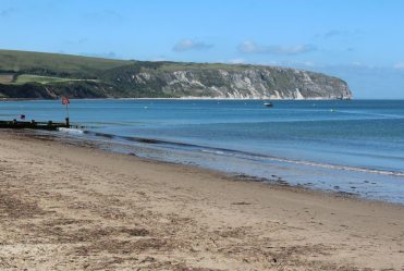 Ballard Point and Swanage Beach, Swanage