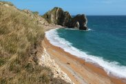 Durdle Door, from South West Coast Path to Swyre Head