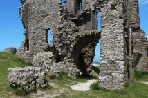Ruins, The Keep, Corfe Castle