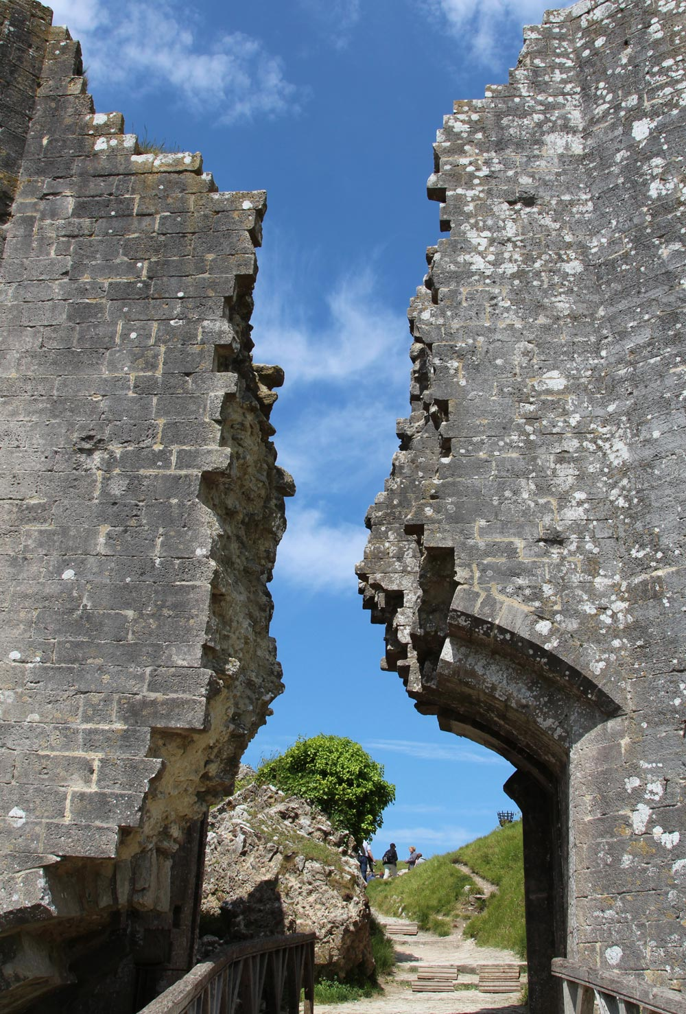 South-West Gatehouse, Corfe Castle