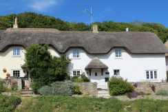 Thatched cottages, Lulworth Cove