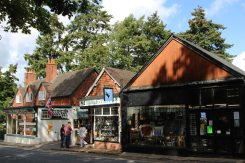 The Burley Stores and gift shops Burley, New Forest