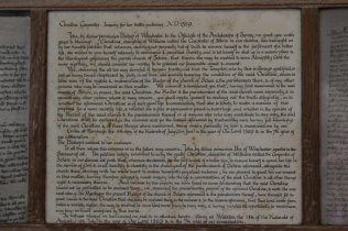 Bishop of Winchester's register of 1329, Anchoress of Shere, St. James' Church, Shere