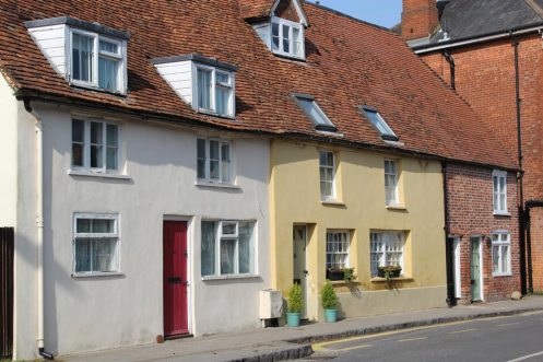 Cottages, Church Street, Whitchurch