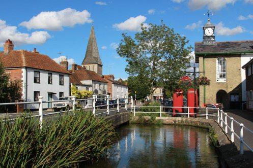 Duck Pond, River Test, Stockbridge