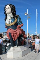 HMS Marlborough Figurehead, Gunwharf Quays, Portsmouth