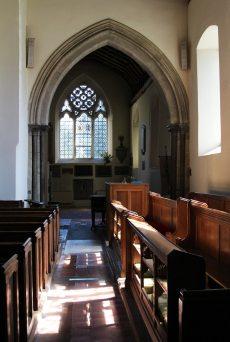 Interior, St. James' Church, Shere