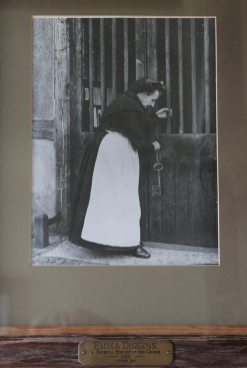 Photograph of Emma Diggins, West Porch, St. James' Church, Shere
