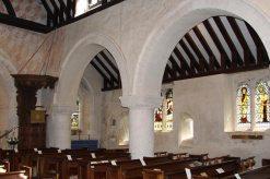 South Aisle, St. Nicholas Church, Compton