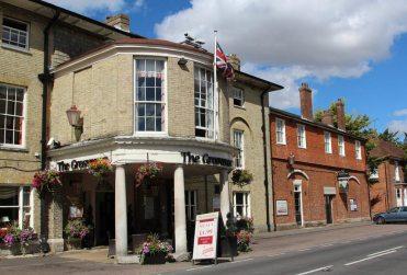 The Grosvenor Hotel, High Street, Stockbridge