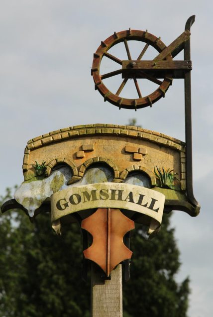 Village sign, Gomshall