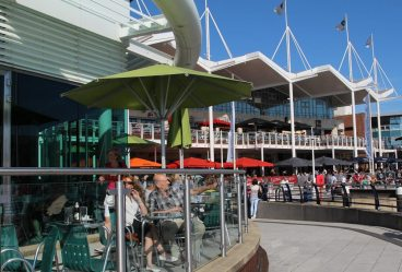 Waterfront Cafe, Gunwharf Quays, Portsmouth