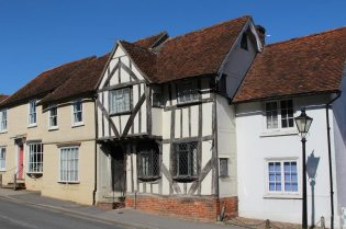 15th century Tudor house, Watling Street, Thaxted