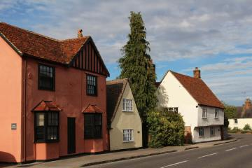 Cottages, High Street, Littlebury