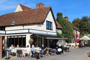 Bosworth's Tea Room and The Fox Inn, Finchingfield