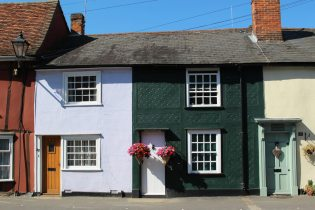 Cottages, Newbiggen Street, Thaxted