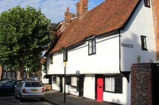 Cottages, Saffron Walden
