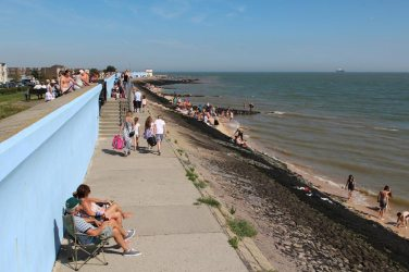 Sea front, Canvey Island