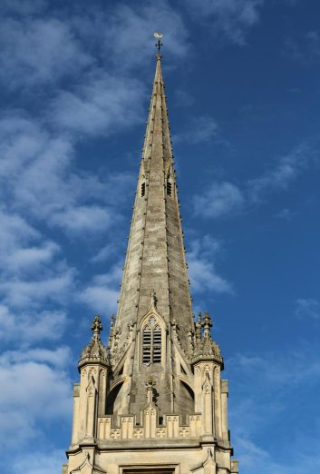 St. Mary's Church spire, Saffron Walden