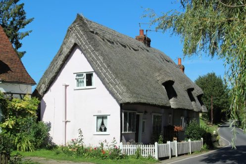 Thatched cottages, Finchingfield