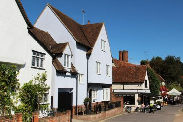 The Old Coach House and Bosworth's Tea Room, Finchingfield