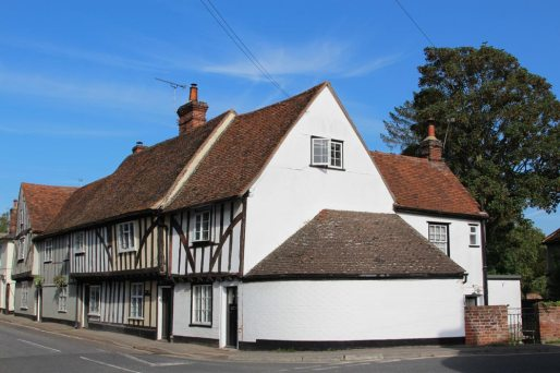 Medieval cottages, Birch Street, Nayland
