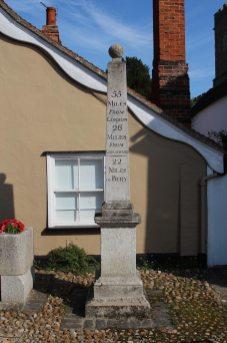Obelisk Milestone, High Street, Nayland