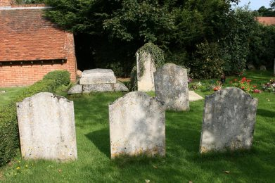St. Mary's Churchyard, showing the Constable family tomb, East Bergholt