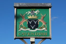 Village sign, Cavendish