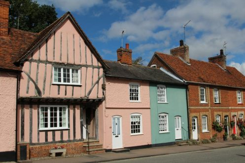 Cottages, Church Street, Lavenham